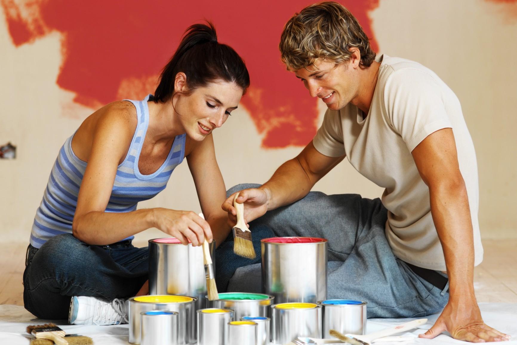 Pennelli pitturare casa