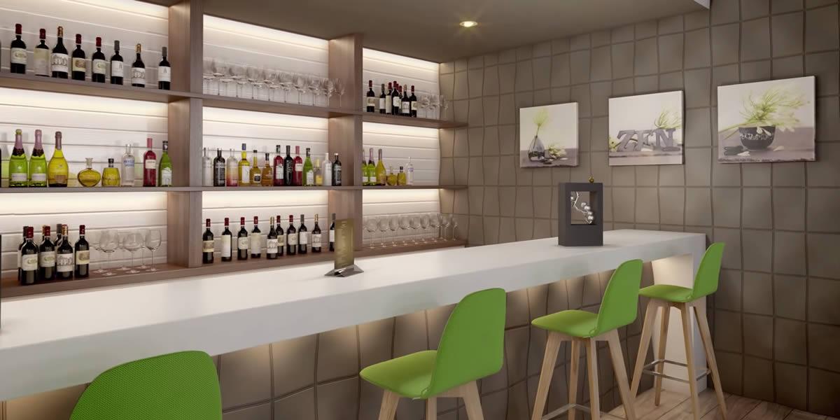 pannelli 3d poliuretano locali pubblici bar ristoranti