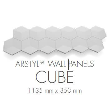 pannello 3d poliuretano cube rivestimento pareti milano
