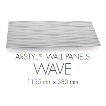 pannello 3d poliuretano wave
